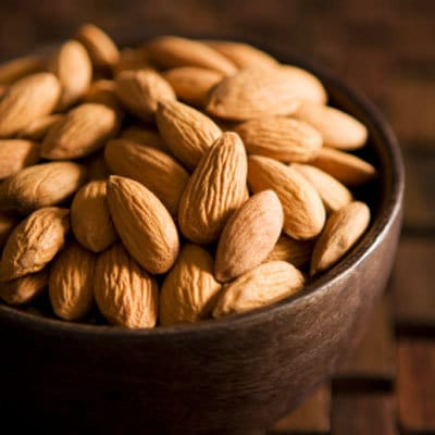 Almonds to boost energy