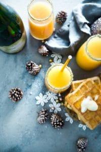 Christmas healthy food and drinks