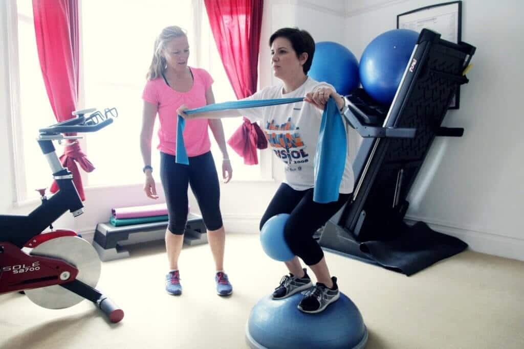 Personal trainer in Bristol for Menopause and postnatal exercise.