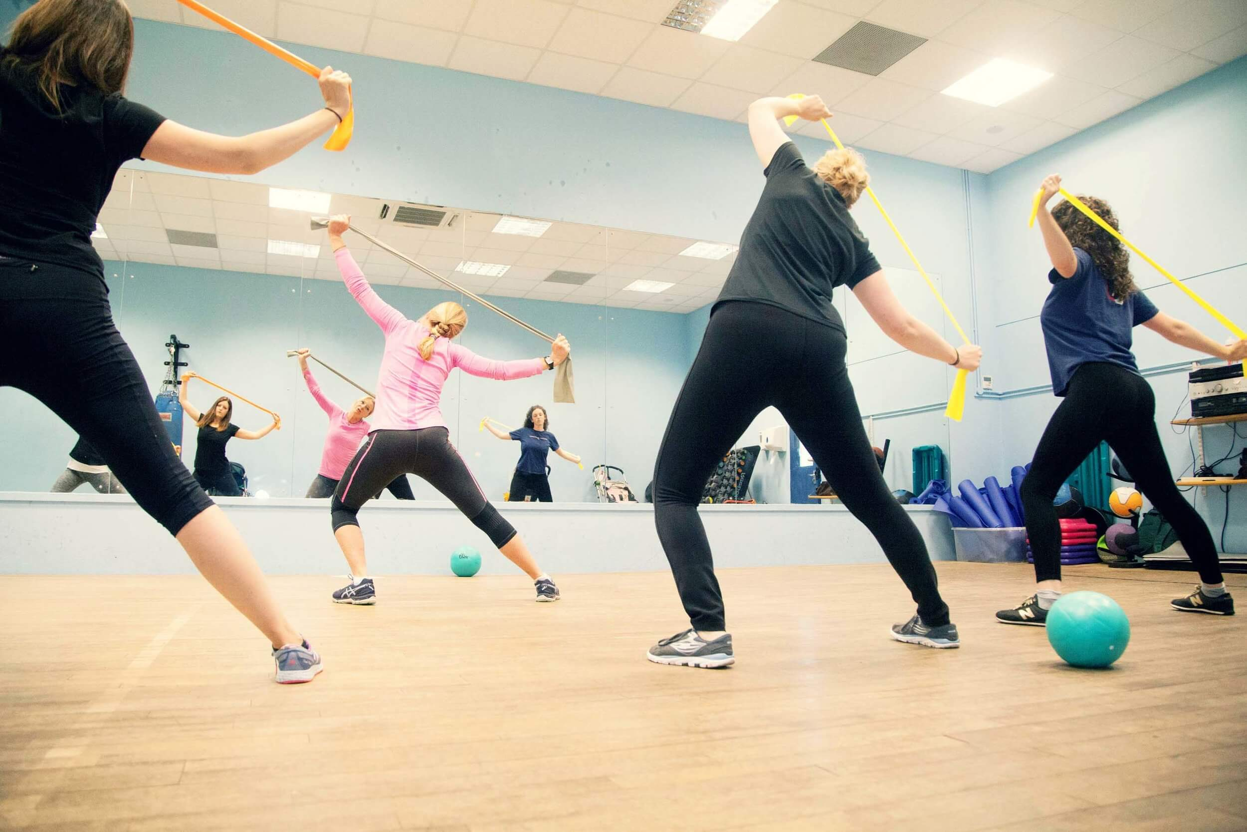 Women's Online Menopause Fitness Class