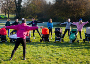 New Mum's getting back to fitness